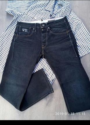 Мужские штаны \ джинсы g - star 3301   w33   l32.