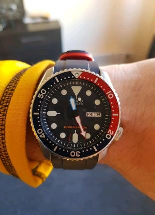 часы seiko skx009 mod crafterblue