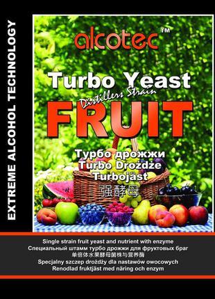 Дрожжи спиртовые для фруктов ALCOTEC Turbo Fruit