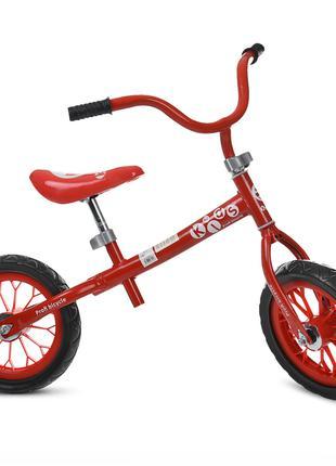 Беговел детский Profi Kids M 3255-3, красный