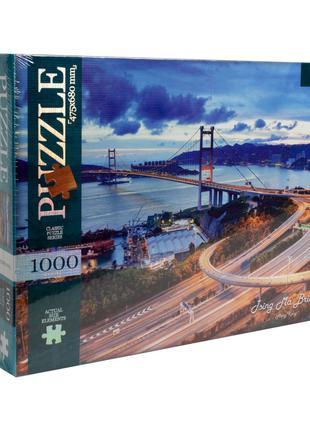 """Пазлы """"Мост Цинма, Гонконг"""", 1000 элементов Dankotoys (C1000-10-0"""