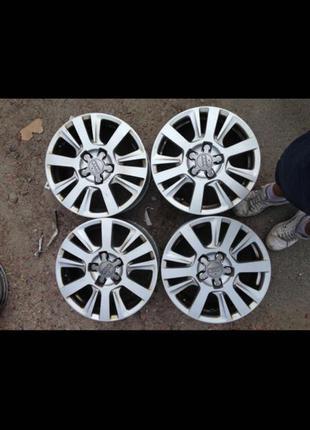 Диски R16, 5*112, et42, 7J, dia57.1, Audi.