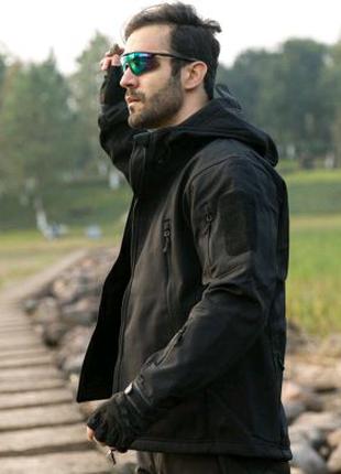 Мужская тактическая куртка милитари ReFire Gear Black
