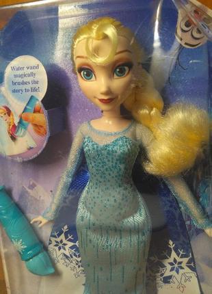 """Кукла Эльза """"Холодное сердце"""" волшебный плащ DISNEY FROZEN ELS..."""