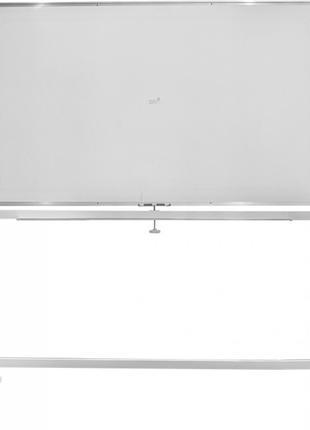 Доска магнитная маркерная флипчарт Buromax