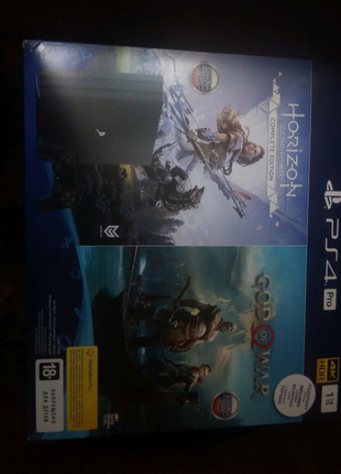 PS4 pro +PS + библиотека игр