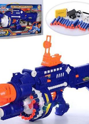 Игрушечный автомат пулемет бластер Kronos Toys SB250, поролоновые