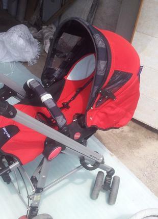 Детская коляска трансформер 2 в 1 Pierre Cardin б.у