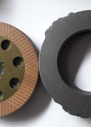 Тормозной диск фрикционный (комплект) на JCB, 3CX, 4CX,