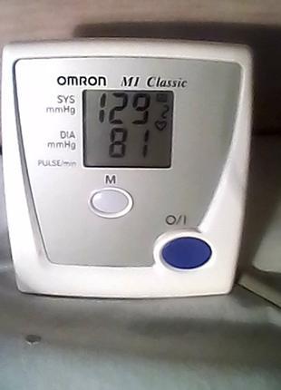 Тонометр ОMRON M1 Classik (полуавтомат)