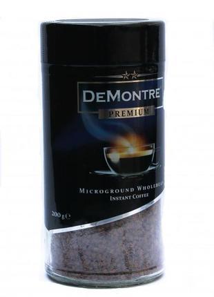 Кофе растворимый с добавлением молотого DeMontre Premium 200 г