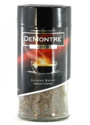 Растворимый кофе De Monte Gold 200 г (Польша)