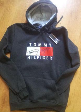 ХУДИ кенгуру толстовка Tommy Hilfige L
