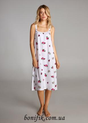 Женская ночная сорочка для дома с рисунком LND 320/001