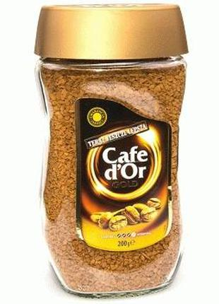 Cafe D`Or Gold — растворимый сублимированный кофе, 200 гр