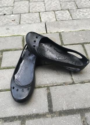 Балетки crocs оригинал w9
