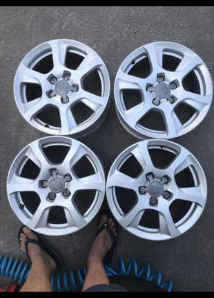 Диски R16, 5*112, et45, 7.5J, dia66.6, Audi.