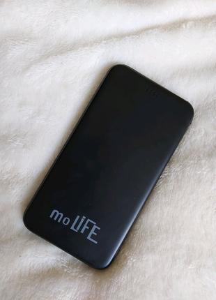 Батарея мобильная moLive 5000 mAh Black
