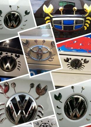 3D стикер  на Эмблему крышки багажника