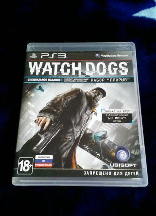 Watch Dogs (русский язык) для PS3