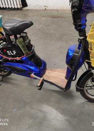 Электро скутер велосипед48водьт 350ват