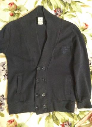 Кофта, свитер для школы на пуговицах 116-122-128