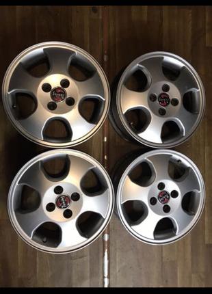 Диски R15, 4*100, et49, 6J, dia56.6, Opel,Deawoo.
