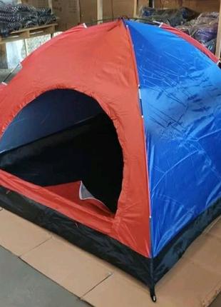 Палатка палатка 4-х местная 208×208×160 см. палатка туристическая