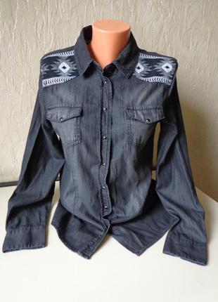 Сорочка, рубашка esmara, коттон, розмір 44 (52)