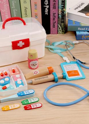 Игрушки для детей Домашний доктор - аптечка.