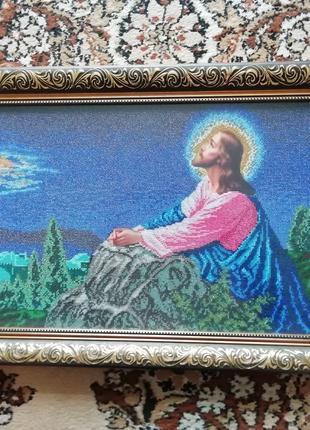 """Ікона """"Ісус на Оливній горі"""""""