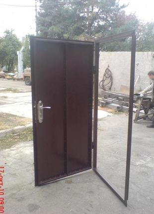 Дверь техническая, изготовление под проём.