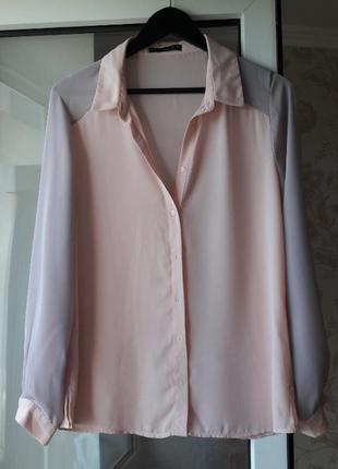 Блузка пастельного цвета