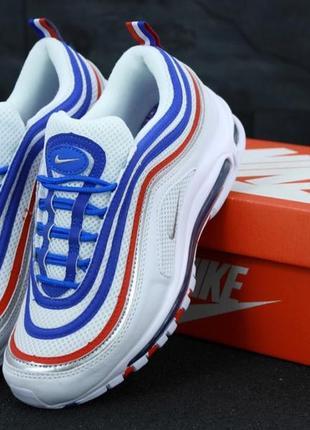 Популярные кроссовки 💪 nike air max 97 white blue💪