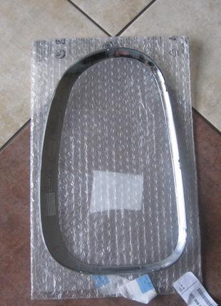 Рамка хром окантовка заднего фонаря на Mini Countryman R60 R61