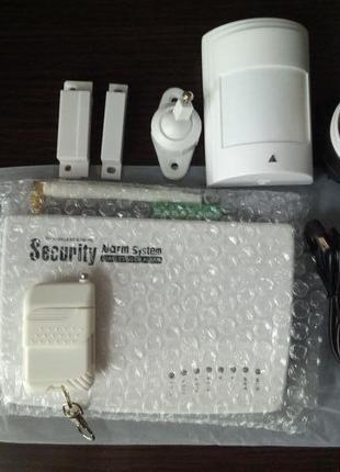 Проводная GSM сигнализация дом, гараж,квартира, дача