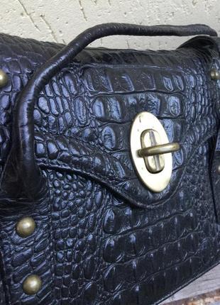 Винтаж,эксклюзив,сумка,ридикюль,кожа крокодила,peter kaiser
