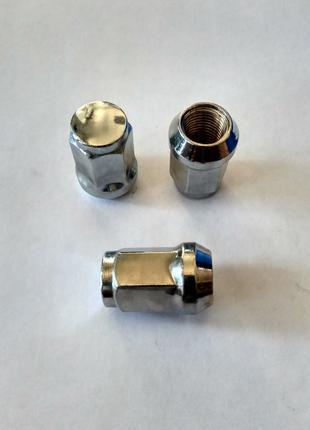 Гайка крепления для литого диска (колеса) 14*1.5 ключ 19