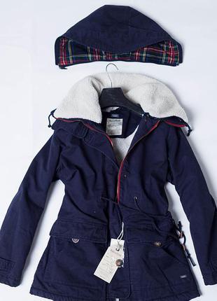 Демисезонная куртка/парка pull&bear