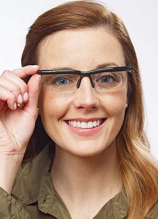 Очки с регулировкой линз от -6D до +3D