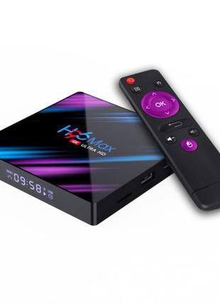 Смарт ТВ-приставка H96 Max 2/16GB Black