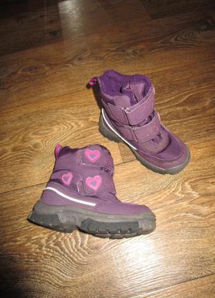 Сапоги ботинки на девочку