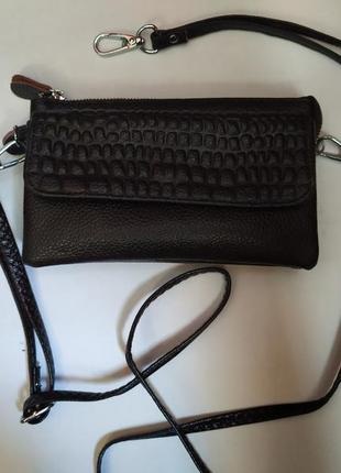 Мини сумка, клатч, кошелек 3в1