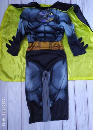 Костюм бэтмен 2-3 года