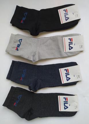 Носки мужские спортивные брендовые средней высоты