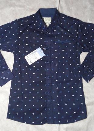 Рубашка для мальчика  9-12 лет