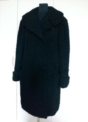 Пальто из натурального каракуля
