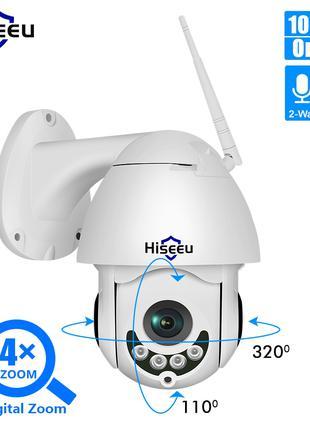 Wifi Камера Видеонаблюдения Уличная Поворотная Hiseeu WHD712 2MP