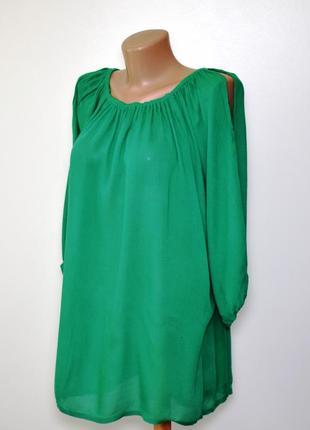 Сочная зеленая блуза simply be