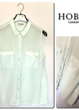 Шовкова блуза hobbs london майка топ рубашка сорочка шелковая ...
